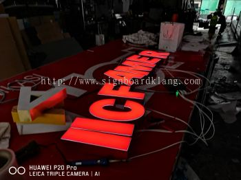 3D Led channel lettering Supply at klang / Kuala Lumpur