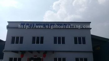 Pe Plus Industries Sdn bhd 3D Eg Box up lettering Signage At Teluk Gong Klang