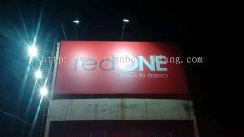 Red One Network Sdn Bhd  Giant Billboard At tanjong Karang Selangor