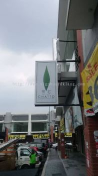 Chatto Double side light box at sri Petaling Kuala Lumpur signboard design