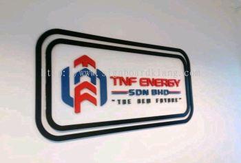TNF energy 3D box up lettering signage at Petaling jaya Kuala Lumpur
