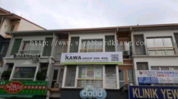Kawa metal G.I signage signboard at setia alam shah alam