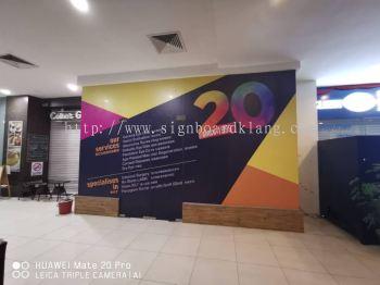 VISTA Eye Special inkjet wallpapers printing at bangsa Kuala Lumpur