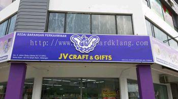 Jv Craft 3D box up led signboards at setia alam