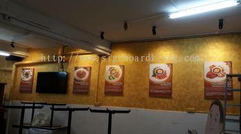 Srk noodle Wood Poster frame inkjet at cheras