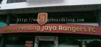 Stadium Eg Box up 3D lettering Signage at Petaling jaya Kuala Lumpur