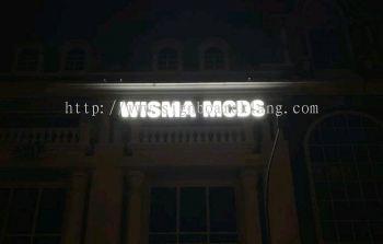 Wisma Mcds 3D led concel box up lettering signage at bukit tinggi klang