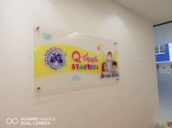 Q-dees starters Acrylic poster frame at bukit tinggi klang