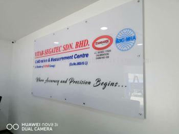 Vitar-segatec sdn bhd Acrylic Poster frame Signage at klang