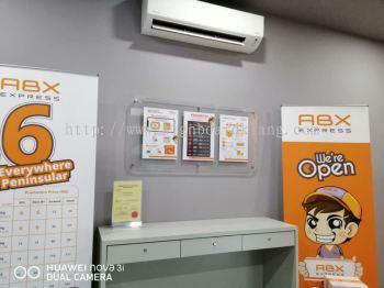 Abx Acrylics Poster frame at puchong Kuala Lumpur
