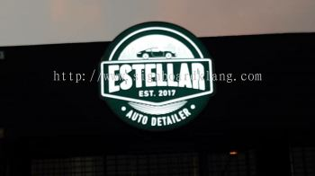 Estellar Beeds 3D Led conceal box up 3D lettering aignage At usj subang jaya