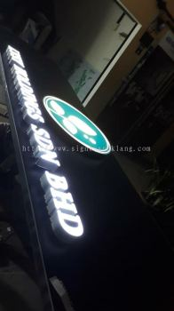 Lysy holding sdn bhd 3D LED channel box up lettering signage at puchong signboard