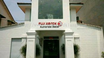 Fuji xerox Authorised Dealer Eg 3D box up lettering signage at pelangi jaya damamsara Kuala Lumpur