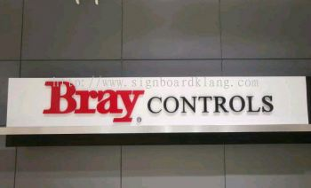 Bray Control indoor 3D Eg Box up lettering signage indoor 3D signboard at kota kemuning Shah alam