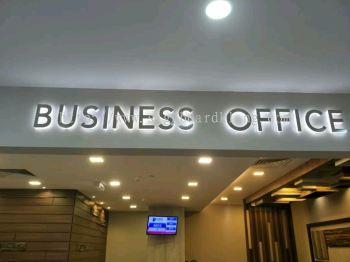 dasa business park Eg box up 3D lettering lwd backlit indoor LED signage at damansara petaling jaya Kuala Lumpur