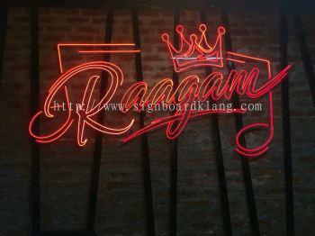 Raagam 3D LED neon bar signage at SS2 petaling jaya Kuala Lumpur