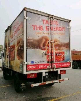 Truck lorry sticker design at klang