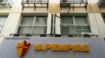 Vapempire Acrylic 3D LED box up signboard at Kuala Lumpur