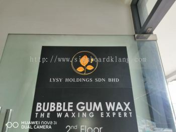 Lysy Holding sdn bhd Normal G.i signboard