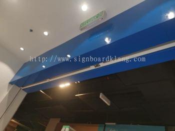 Samsung Mall Acrylic Lightbox signage signboard at damansara seventeen mall Kuala Lumpur