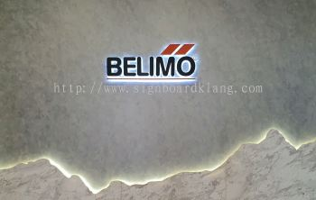 BeliMo Eg 3D led box up lettering backlit signage at jalan kapar klang