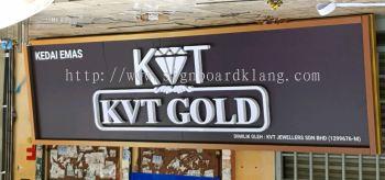 3D LED chanel box up lettering signboard signage at klang and Kuala Lumpur