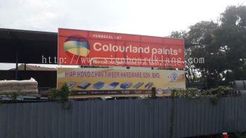 Normal No light Metal G.I signboard signage at Kuala Lumpur klang subang puchong shah alam kapar