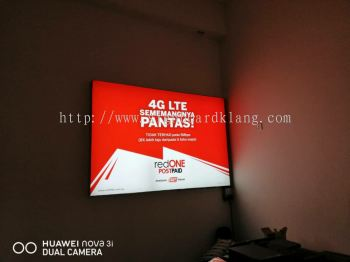 Indoor Light box Led Fabric Light Box Signage Signboard at Kuala Lumpur Klang Subang Selangor