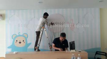 3D Led channel Box up logo frontlit signage at semenyih Selangor
