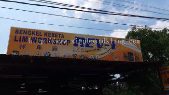 Lim Workshop Metal GI Signage Signboard At Klang Kuala Lumpur