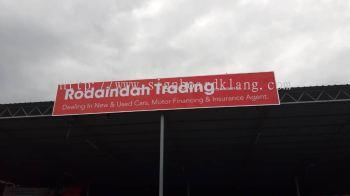 Rodaindah Metal Gi Base Signage Signboard At Klang Kuala Lumpur