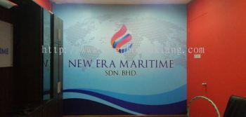 new era wallpaper sticker printing at puchong kuala lumpur