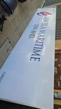 new era maritime gi metal signage signboard at puchong kuala lumpur