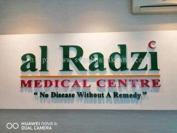 al radzi 3d pvc cut out lettering indoor signage signboard at klang kuala lumpur puchong shah alam