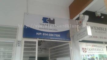 smartway metal gi signage signboard at klang kuala lumpur puchong shah alam