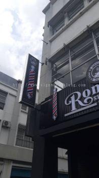 romeos aluminium ceiling trim casing base 3d led frontlit lettering signage signboard at klang kuala lumpur puchong shah alam