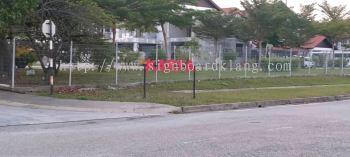 3d pvc cut out lettering road side signage signboard at klang kuala lumpur shah alam