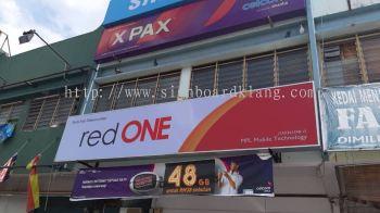 red one lightbox signage signboard at klang kuala lumpur puchong shah alam