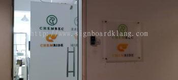 chemrec acrylic poster frame indoor signage signboars at klang kuala lumpur puchong shah alam