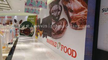 mahnaz food shopping mall hoarding indoor signage signboard at klang kuala lumpur shah alam puchong kepong damansara subang jaya petaling jaya