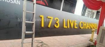 3d led frontlit channel lettering logo signage signboard at putra jaya damansara sri petaling