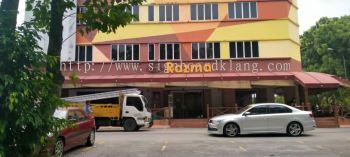 razma restaurant cafe 3d box up lettering signage signboard at kuala lumpur cheras rawang sungai buloh