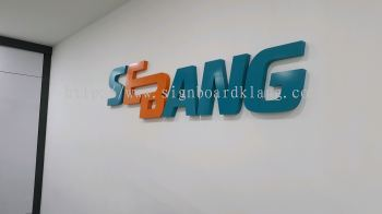 sebang 3d eg box up signage signboard indoor at kepong shah alam puchong damansara
