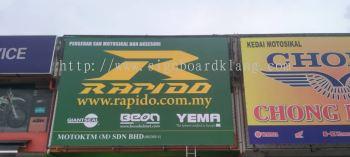 rapido zig zig fabric billboard signage signboard at kepong damansara subang jaya kuala lumpur shah alam