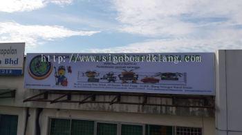 alam hijau lightbox signage signboard at kuala lumpur shah alam puchong damansara