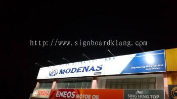 modenas metal gi signage signboard at klang damansara subang jaya kuala lumpur cheras