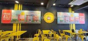 ayam gepuk canves poster frame printing indoor signage signboard at klang kepong damansara subang jaya puchong