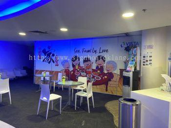 vista eye indoor wallpaper printing signage signbaord at kepong subang jaya shah alam mon kiara damansara