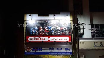 zigzag fabric signage signboard at cheras shah alam puchong kepong damansara subang jaya