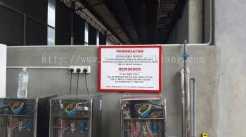 factory gi metal signage signboard kepong damansara kuala lumpur cheras